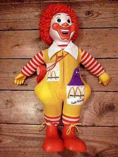 画像2: Mcdonald's Ronald doll Hasbro