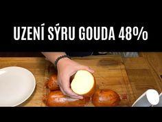 UZENÍ SÝRU GOUDA 48%   Z UDÍRNY #8 - YouTube Gouda, Pretzel Bites, Cooking Recipes, Youtube, Chef Recipes, Youtubers, Youtube Movies, Recipies
