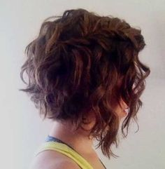 Short Wavy Curly Hairstyles - Love this Hair
