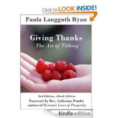 Amazon.com: Giving Thanks: The Art of Tithing eBook: Paula Langguth Ryan : Books