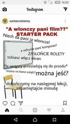 Tru XDD I Hate School, Polish Memes, Very Funny Memes, Funny Mems, Creepypasta, Real Life, Haha, I Am Awesome, Funny Pictures