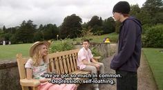 """They bond over pretty much anything   Community Post: The 27 Most Profound Things Ever Said On """"Skins"""""""
