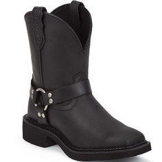 L9991 Women's Gypsy Harness Justin Boots - Black