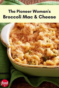 A sure way to get the little ones to eat their veggies is adding them to a baked mac and cheese. The velvety sauce uses a blend of sharp Cheddar, processed cheese and grated Parmesan, and a breadcrumb topping adds some crunch. Slow Cooker Recipes, Beef Recipes, Cooking Recipes, Healthy Recipes, Cheese Recipes, Recipies, Macaroni N Cheese Recipe, Macaroni And Cheese, Sheet Pan Suppers
