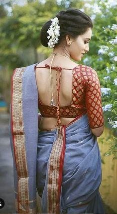 pooja chavan Kashta Saree, Bridal Hairstyle Indian Wedding, Nauvari Saree, Indian Look, Saree Photoshoot, Saree Models, Blouse Neck Designs, Indian Models, Most Beautiful Indian Actress