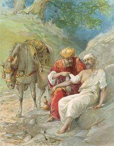 The Good Samaritan Painting  - The Good Samaritan Fine Art Print