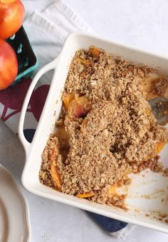 Easy Healthy Fruit Crisp | Hummusapien