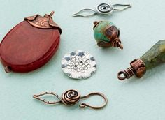 make handcrafted wire and metal findings - from Finish Strong: Enhance Your Jewelry Designs with New Handcrafted Metal Findings - Jewelry Making Daily