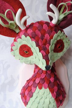 Berry Hairy Haremus by horribleadorables on Etsy, $250.00
