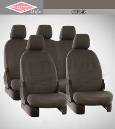 Серые чехлы Автопилот на сиденья от интернет магазина Autopilot style. http://autopilot-style.ru/ для Ситроен, Део
