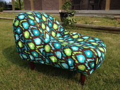 Upcycled Pet Bed for Small Dogs and Cats  Made by LavishLoungers, $175.00