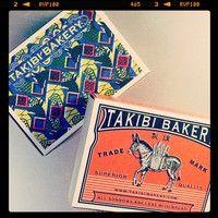 センス抜群!旅するパン屋TAKIBI BAKERYのオリジナルアイテム