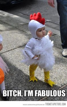 funny baby Chicken costume