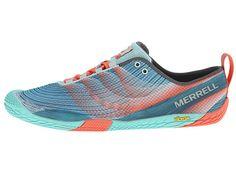 Merrell Vapor Glove 2 Sea Blue/Coral - Zappos.com Free Shipping BOTH Ways