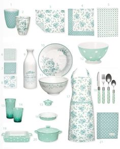 GreenGate Summer 2013 collection from Occa