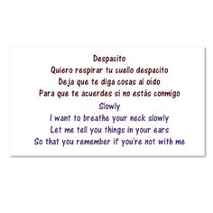 """What Does Despacito Song Mean?  Despacito means """"slowly"""" in English. This article provides an English translation of the song. The song is the first Spanish language track to be the number 1 song in the United States since """"Macarena."""" Luis Fonsi and Daddy Yankee song features Justin Bieber. It has been more than 20 years since a mostly Spanish language track has been number 1.  Despacito Oh Fonsi DY Oh Oh no oh no Oh yeah Diridiri dirididi Daddy Go Yes you know I've been looking at you for a…"""