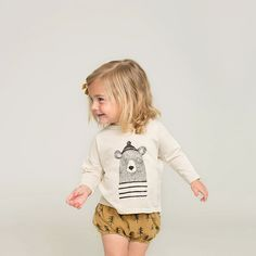 Rylee & Cru - bear tshirt and bloomers <3