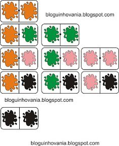 Bloguinho da Vânia: Dominó Cores Bingo, Tinkerbell, Preschool, Comics, Games, Fictional Characters, Frog Crafts, Mother's Day Activities, Geometric Fashion