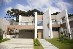 En un casa la fachada principal es la que te muestra el estilo que quieres para tu casa, en las casas modernas sus lineas por lo general son sencillas,