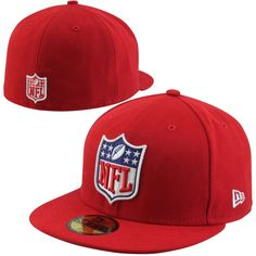 bc458acb69d New Era NFL Shield 59FIFTY Fitted Hat - Red