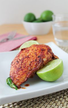 Chili Lime Chicken Marinade - Gluten Free & Low Sodium