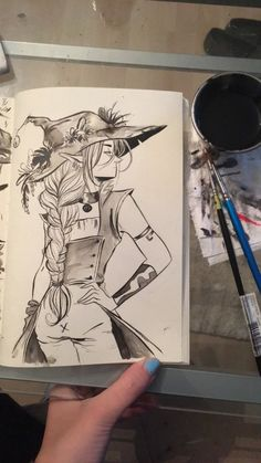 Adventure Zone Podcast, The Adventure Zone, Comic Style, Witch Art, Dnd Characters, Illustrations, Character Drawing, Character Design Inspiration, Drawing Reference