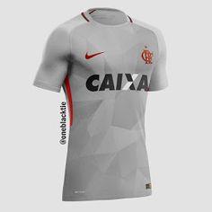 Show de Camisas  Designer cria camisas de clubes brasileiros inspiradas na  Nike - Parte 01 271c52dd3eb8a