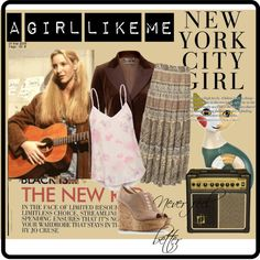 Phoebe Buffay, created by mifc on Polyvore