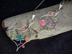 fabriquer des bijoux fantaisie et pendentif original avec motifs fleuris