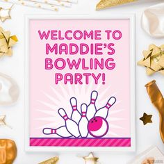 Use these 8x10 signs to make your party extra special! Welcome guests, label the food...