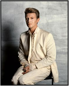 Tony McGee - David Bowie, McGee Studios, 1990 (As seen in the permanent collection of the National Portrait Gallery)