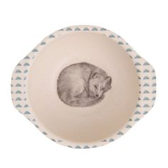 Bamboo Dinner Set with divided plate - Forest Feast