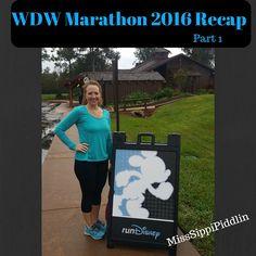 WDW Marathon 2016 Recap Part 1