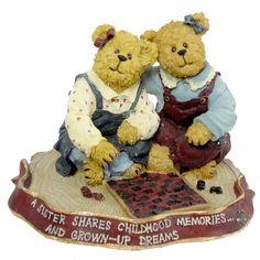 Amazon.com - Boyds Bears Ava and Rae Ann... Rainy Afternoon 2277983 - Collectible Figurines+
