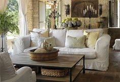 French Countryside Living Room