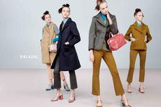 Fall 2015 Fashion Advertising Campaigns Feature Awesome Girl Gangs | Teen Vogue