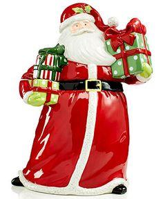 Santa Cookie Jar by Certified International