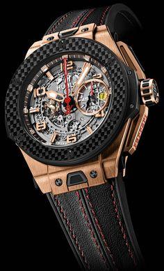 Hublot Big Bang Ferrari King Gold Carbon 45mm