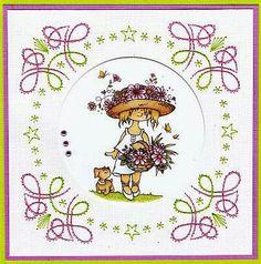 Josee's Kaartenblog: borduurkaarten
