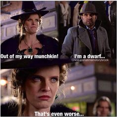 4/11/14  7:13a  ''Once Upon A Time''  Zelena aka Wicked Witch  of the West  Bitchy Witch