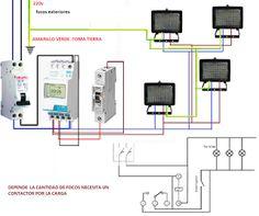 Esquemas eléctricos: interruptor horario