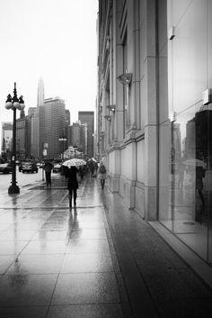 Perspective Under The Rain / Marie Laigneau
