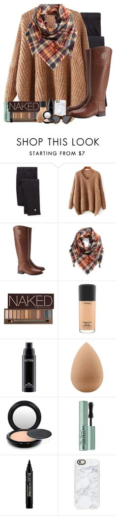 """""""Happy Thanksgiving! (day 1)"""" by simplesouthernlife01 ❤ liked on Polyvore featuring Kate Spade, Tory Burch, BP., Urban Decay, MAC Cosmetics, beautyblender, Too Faced Cosmetics, Milani, Casetify and Karen Walker"""