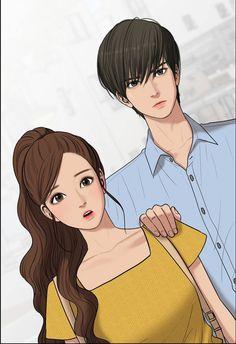 Suho and jukyung - True beauty Suho, Cha Eun Woo, Anime Couples, Cute Couples, Webtoon Comics, Korean Art, Couple Drawings, Girly Quotes, Fanart