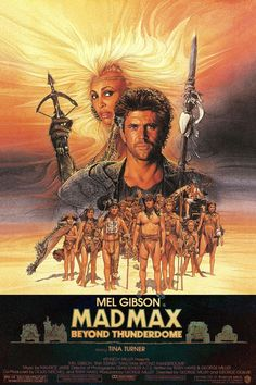 Mad Max: Beyond Thunderdome posters for sale online. Buy Mad Max: Beyond Thunderdome movie posters from Movie Poster Shop. We're your movie poster source for new releases and vintage movie posters. Action Film, Action Movies, Movies Showing, Movies And Tv Shows, Mad Max 3, Film Science Fiction, Image Internet, The Road Warriors, Bon Film