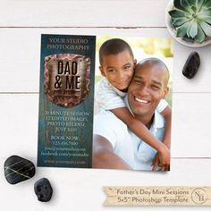 Father's Day Mini Sessions Dad and Me Template by NovemberHouse