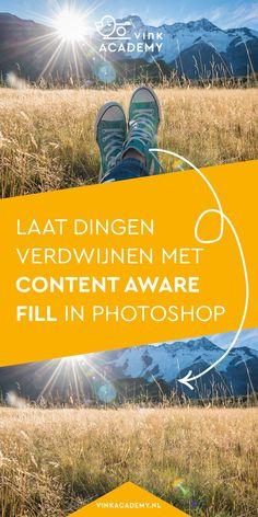 Content Aware Fill: Zaubertrick zum Verschwinden in Photoshop - Today Pin Photoshop Tutorial, Cool Photoshop, Photoshop Design, Photoshop Actions, Lightroom, Photography Lessons, Photoshop Photography, Digital Photography, Portrait Photography