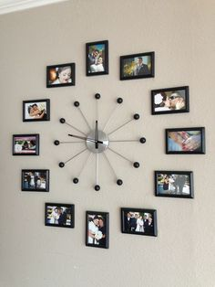 unique wall decor ideas with clocks 36 ~ mantulgan.me unique wall decor ideas with clocks 36 ~ mantulgan. Family Wall Decor, Unique Wall Decor, Living Room Decor, Bedroom Decor, Family Clock, Unique Wall Clocks, Cute Wall Decor, Wall Decorations, Frame Wall Collage