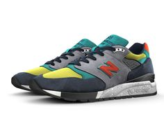 Set the trend in a style all your own. The 998 is a retro look with a modern attitude - and it's arguably one of the most trendsetting silhouettes in our iconic 990 series. Mix and match mesh and premium suede to keep it classic, or give it a fresh look. The 998 fashion trend is all yours. Me Too Shoes, Men's Shoes, New Balance 998, Latest Shoe Trends, Retro Look, Custom Shoes, Sports Shoes, Suede Boots, Cool Watches