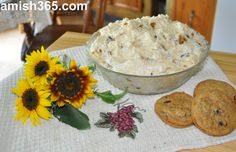 Dorcas Raber in the Flat Rock, Illinois Amish settlement said this dessert originated when a woman in her church used chocolate chip cookies instead of the graham crackers in the recipe she had gotten